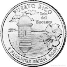 Monedas antiguas de América: ESTADOS UNIDOS / U.S.A ¼ QUARTER DOLLAR 2009 PUERTO RICO P. Lote 140349856