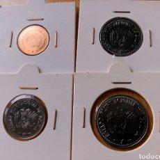 Monedas antiguas de América: LOTE 6 MONEDAS BOLIVIA: 10 20 50 CENTAVOS 1 2 5 BOLIVIANOS. Lote 105975618