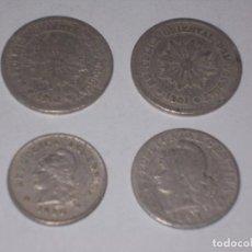 Monedas antiguas de América: URUGUAY DOS MONEDAS 5 CENTÉSIMOS 1901. ARGENTINA 20 CENTAVOS 1897. ARGENTINA 10 CENTAVOS1920. Lote 106557827