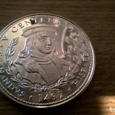 Monnaies anciennes d'Amérique: CUBA. 5 ONZAS DE PLATA PURA DE 1990. V CENTENARIO. Lote 107029187