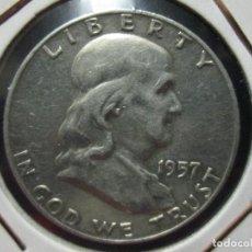 Monedas antiguas de América: HALF DOLLAR 1957 PLATA. Lote 107274999