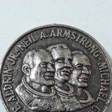 Monedas antiguas de América: MONEDA DEL VIAJE DEL APOLO XI ALA LUNA 24 DE JULIO 1969. Lote 107730579