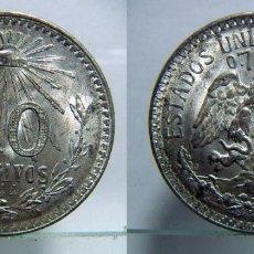 Monedas antiguas de América: MONEDA DE MÉJICO 50 CENTAVOS 1944 PLATA. Lote 107824595