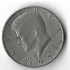 Monedas antiguas de América: MONEDA LIBERTY 1973- KENNEDY HALF DOLLAR MEDIO DOLAR. Lote 107977691