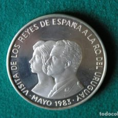Monedas antiguas de América: MONEDA 2000 PESOS - URUGUAY - 1983 - PLATA 900 - CALIDAD PROOF. Lote 108151031