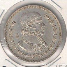 Monedas antiguas de América: MONEDA DE PESO DE MÉJICO DE 1957. PLATA. EBC. (ME1397). Lote 108258215