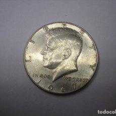 Monedas antiguas de América: 1/2 DOLAR USA DE PLATA BAJA DE 1967. PRESIDENTE KENNEDY. Lote 108788259