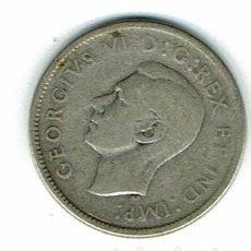 Monedas antiguas de América: GEORGIVS VI 25 C. PLATA-CANADA 1946 . Lote 109285231