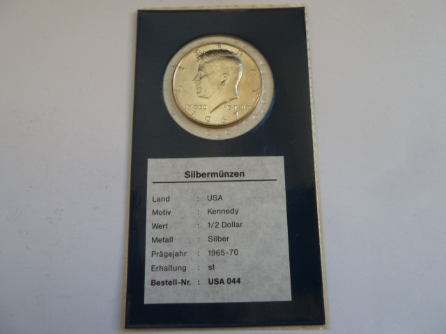 Moneda De Plata De 12 Dolar De 1967 De Kennedy Comprar Monedas
