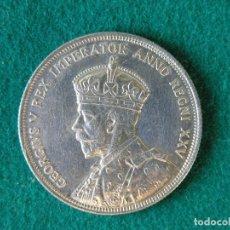 Monedas antiguas de América: MONEDA 1 DÓLAR CANADA - 1935 - GEORGE V - PLATA 800 - EBC. Lote 109640767