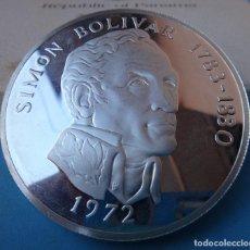 Monedas antiguas de América: MONEDA PLATA 20 BALBOAS , REPUBLICA PANAMA , 1972 , PROOF, LEY 0,925 , ORIGINAL , B2. Lote 110136595