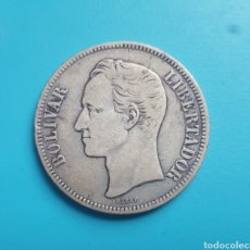 Monete antiche di America: MONEDA DE PLATA. 1903. ESTADOS UNIDOS DE VENEZUELA.. Lote 110183463