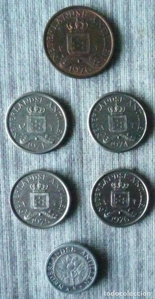 Monedas antiguas de América: LOTE DE 6 MONEDAS DE LAS ANTILLAS NEERLANDESAS - Foto 2 - 110479815