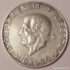 Monedas antiguas de América: MONEDA DE 5 PESOS MEXICANOS, PLATA HIDALGO 1956. Lote 110828015