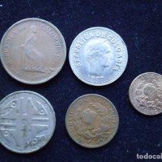 Monedas antiguas de América: COLOMBIA LOTE DE 5 MONEDAS DIFERENTES. Lote 110867027