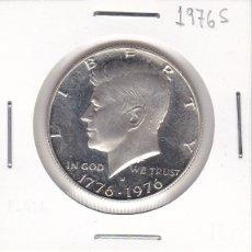 Monete antiche di America: MONEDA DE 1/2 DOLLAR DE KENNEDY DEL AÑO 1976 - 200 AÑOS DE LA INDEPENDENCIA. Lote 111012595