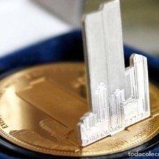 Monedas antiguas de América: MONEDA EN 3D CONMEMORATIVA AL 5º ANIVERSARIO DEL ATENTADO A LAS TORRES GEMELAS NEW YORK. Lote 111106835