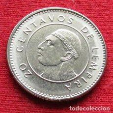 Monedas antiguas de América: HONDURAS 20 CENTAVOS 2007 UNC. Lote 150502638
