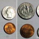 Monedas antiguas de América: 4 MONEDAS DE ESTADOS UNIDOS . Lote 112570615