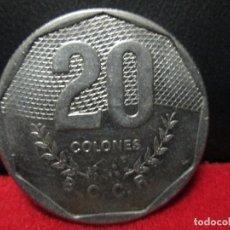 Monedas antiguas de América: 20 COLONES 1985 COSTA RICA EBC = COSPEL GRANDE. Lote 112698311