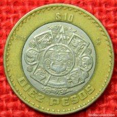 Monedas antiguas de América: MEXICO - ESTADOS UNIDOS MEXICANOS - 10 PESOS MEXICANOS - 2005. Lote 112736683