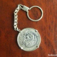 Monedas antiguas de América: LLAVERO + MONEDA DE 25 PESOS PLATA 1968. Lote 112805587