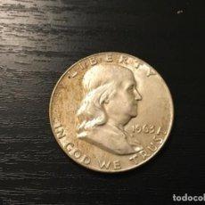 Monedas antiguas de América: MONEDA 1/2 HALF DOLLAR USA 1963. Lote 112928607