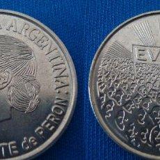 Monedas antiguas de América: ARGENTINA 2 PESOS 2002 (50° ANIVERSARIO FALLECIMIENTO EVA PERÓN, EVITA). Lote 113214515