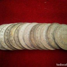 Monedas antiguas de América: BRASIL. 12 MONEDAS DE PLATA DE 1000 REIS DE 1861. Lote 114065851