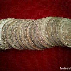 Monedas antiguas de América: BRASIL. 15 MONEDAS DE PLATA DE 1000 REIS DE 1859. Lote 118253247