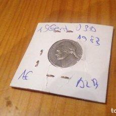 Monedas antiguas de América: 5 CENTAVOS ESTADOS UNIDOS 1983. Lote 114215403
