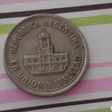 Monedas antiguas de América: ARGENTINA 25 CENTAVOS 1994. Lote 114374296