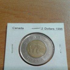 Monedas antiguas de América: CANADA 2 DÓLARES 1996 EBC KM270. Lote 114389340