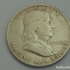 Monedas antiguas de América: MONEDA DE PLATA DE MEDIO DOLAR DE ESTADOS UNIDOS DE 1950 D, CECA DE DENVER. Lote 114703267