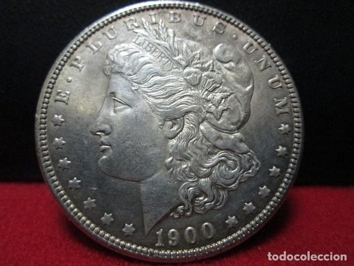BUEN DOLAR MORGAN 1900 PLATA ESTADOS UNIDOS (Numismática - Extranjeras - América)