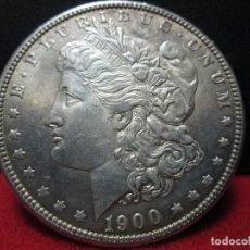 Monedas antiguas de América: BUEN DOLAR MORGAN 1900 PLATA ESTADOS UNIDOS. Lote 114894855