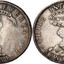 Monedas antiguas de América: ¡¡ MUY RARA !! MONEDA DE 1 PESO INDEPENDIENTE DE CHILE. AÑO 1834. RESELLO FILIPINAS. YII. Lote 114904855