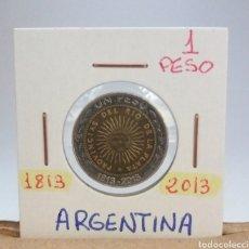 Monedas antiguas de América: ARGENTINA 1 PESO 1813-2013, SC. Lote 115063218
