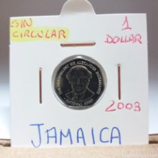 Monedas antiguas de América: JAMAICA 1 DOLLAR 2003, SC. Lote 115073980