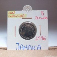 Monedas antiguas de América: JAMAICA 5 DOLLARS 1996, SC. Lote 115074163