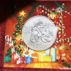 Monedas antiguas de América: 20 DOLLARS CANADA 2013 PLATA LEY 999 BLISTER. Lote 115480243