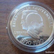 Monedas antiguas de América: ONE DOLLAR USA 1990 P PLATA. Lote 115615591