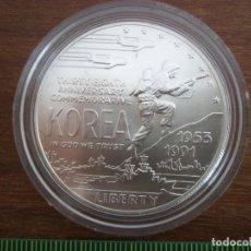 Monedas antiguas de América: ONE DOLLAR USA 1991 D PLATA TIRADA 213 049. Lote 115617511