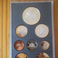 Monedas antiguas de América: SET MONEDAS DE PLATA CANADA 1997. Lote 115743627