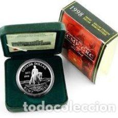Monedas antiguas de América: ONE DOLLAR CANADA 1998 PLATA 925 . Lote 115748459
