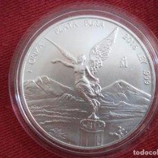 Monedas antiguas de América: 1 ONZA PLATA PURA MEXICO 2016 S/C. Lote 116213855