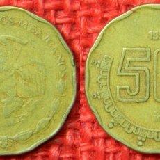 Monedas antiguas de América: MEXICO - 50 CENTAVOS - 1994. Lote 115373483