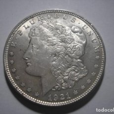 Monedas antiguas de América: USA DÓLAR MORGAN DE PLATA DE FILADELFIA 1921 SIN CIRCULAR. Lote 116388855