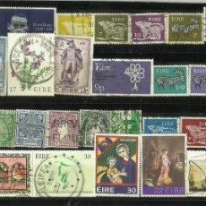 Monedas antiguas de América: LOTE DE SELLOS DE IRLANDA. Lote 116622399