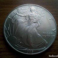 Monedas antiguas de América: ESTADOS UNIDOS. ONZA DE PLATA PURA DE 1995. SC. Lote 171332954